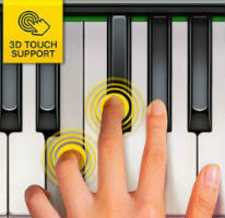 3D Touch technology in Gismart Piano