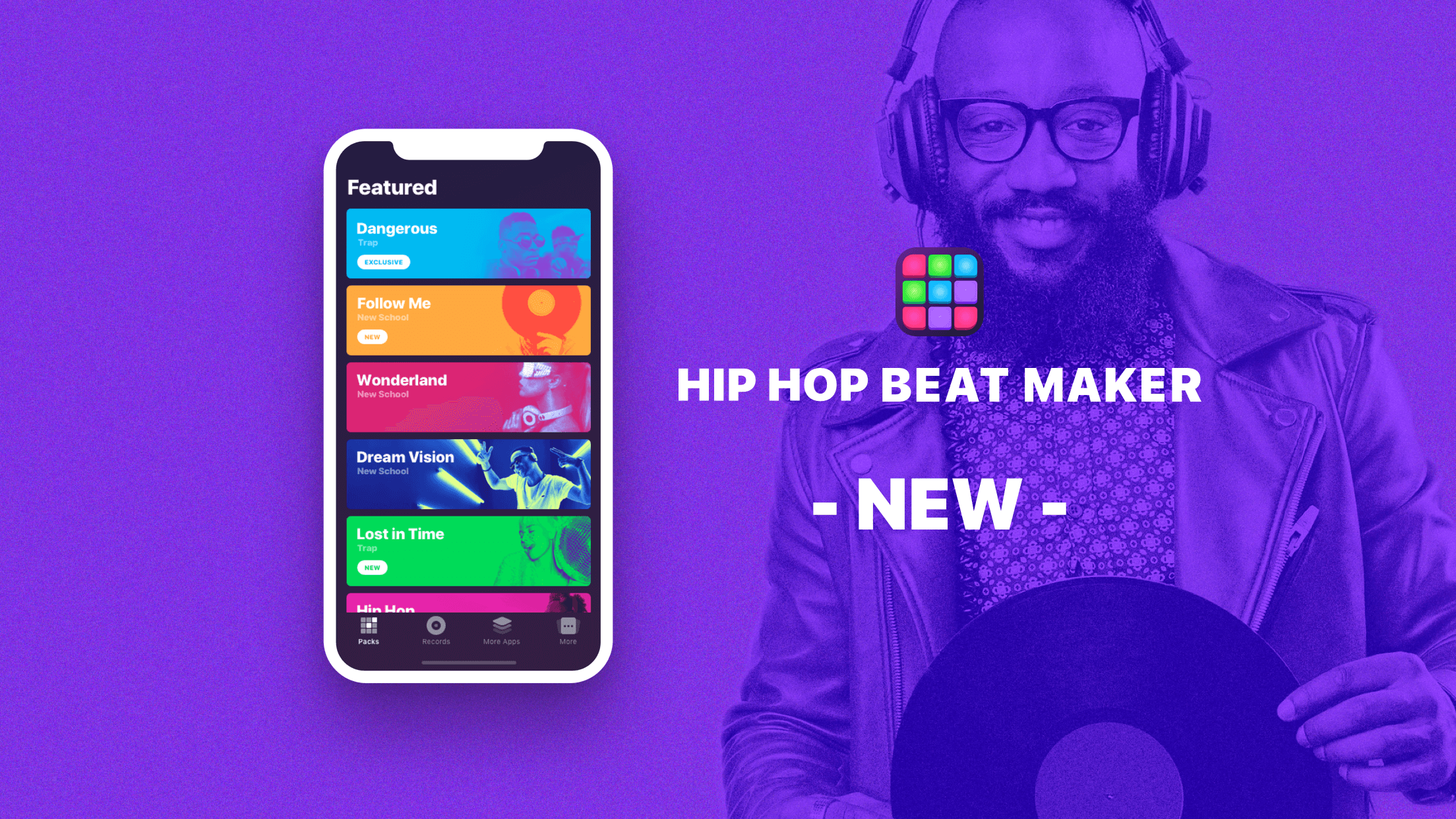 Hip-Hop Beat Maker released on the App Store